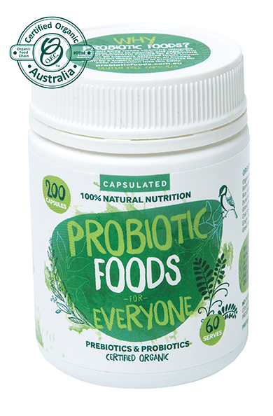 Probiotic Foods for Everyone Capsules