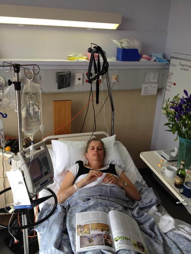 grada in hospital after a bowel obstruction